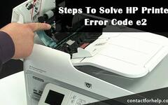 sophiahelp - Are you getting error code e2 while using HP Printer
